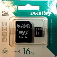 Micro SD 16GB Smart class 10